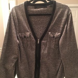 Sean John zip up sweater